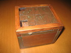Vintage treasure puzzle box