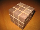 Board and Cube Burr (Katsumoto Cube)